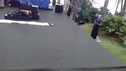 Carpete para Eventos usado uma vez na cor cinza R$10,00 reias o metro
