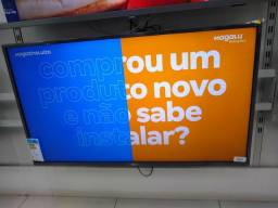 Tv LG 43 Smart e Caixa de Som