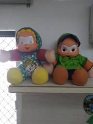 Bonecos turma da Mônica