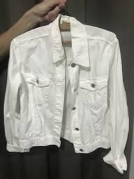 Vendo jaqueta jeans branca