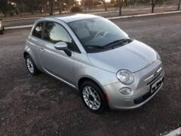 Fiat 500 única dona. 62mil km. Impecável - 2012