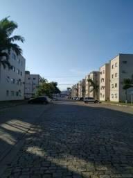 Guanabara, apto 2 dormitórios + garagem (2º andar)