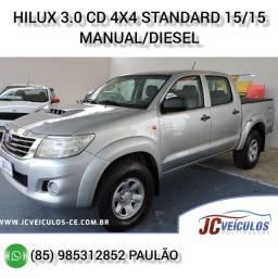 Toyota Hilux 3.0 CD 4X4 Standard 2015/2015