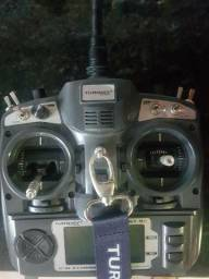 Rádio controle Turnigy 9X aeromodelismo