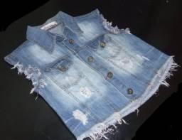Colete jeans Usado