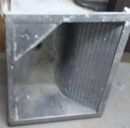 Tanque de Aço inox Cromado