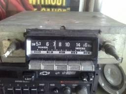 Rádio automotivo inderg antigo kombi vovozinha volkswagen fusca