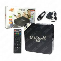 Smart TV Box 4K MXQ Pro Hdmi Wi-Fi Android 11.1 Memoria Interna 128GB 8GB Ram<br><br>