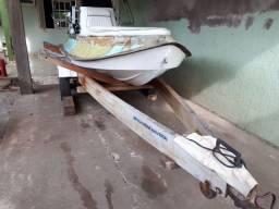 lancha flex boat modelo tryatlon motor jhonson
