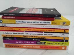 10 Livros novos por 70,00