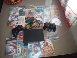 PS2 completo+jogo+ 2mentes original
