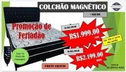 Título do anúncio: Colchao magnético com Box