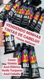 Título do anúncio: Tintas coloridas para cabelo (framcolor Bold)