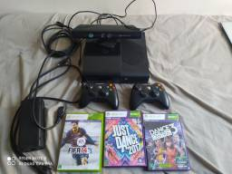 Xbox 360+Kinect+jogos
