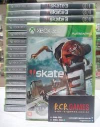 Título do anúncio: Jogo novo Skate 3 xbox 360 xbox one. Retirada Portão