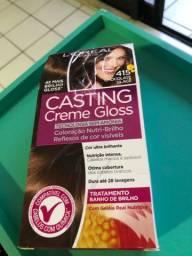 Creme gloss casting da loreal . Cor chocolate glacê