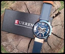 Título do anúncio: Relógio Masculino Curren Pulseira de Couro
