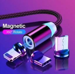 Cabos magnéticos 3 em 1!!!!