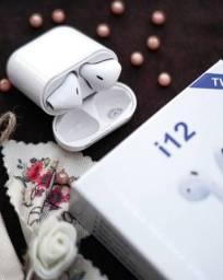 Título do anúncio: Fone Intra-Auricular Sem Fio Bluetooth i12 Tws