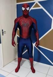 Replica idêntica da roupa the amazing spider Man 2