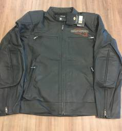 Jaqueta de couro para moto