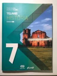 Teláris História 7 em ótimo estado