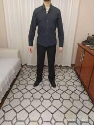 Título do anúncio: Camisa social tamanho P colarinho 2