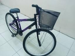 Bicicleta pouco tempo de uso