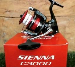 Molinete pesca Shimano sienna c3000