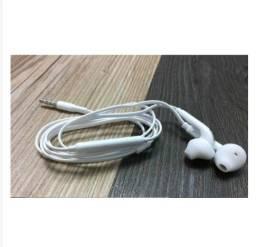 Fone de Ouvido com Microfone Modelo S6=Modelo do Fone de ouvido do Samsung Galaxy S6