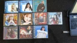 Cd Gospel - Lauriete; Catedral; Kim; Cassiane; Jamily e outros - LOTE 10 cds