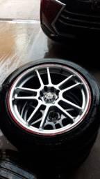 Título do anúncio: Vendo rodas multi furo 17
