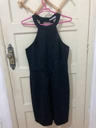 vestido de renda chifon tamanho G