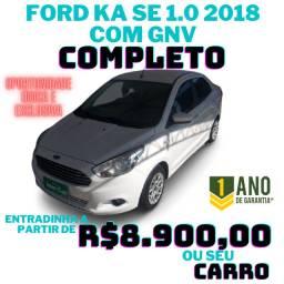 Ford KA SE 2018 c/ GNV