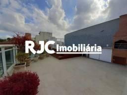 Cobertura à venda com 3 dormitórios em Praça da bandeira, Rio de janeiro cod:MBCO30410