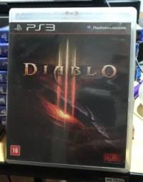 Título do anúncio: Jogo usado Diablo 3 Ps3. Retirada Portão