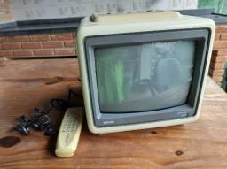 Televisão Antiga Semp 10 Pol Otima pra Retrogames
