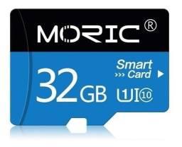 Cartão De Memória 32gb Moric Classe 10 Sdhc Micro Sd