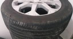Rodões Aro 16 original do Astra com pneus.