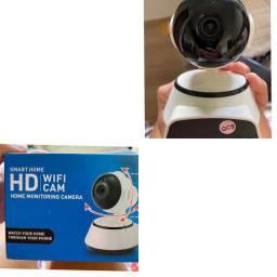 Câmera HD de 1 MP com Rede sem fio: Wi-Fi