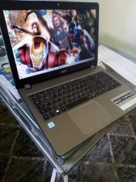 Notebook acer- i5-7a geraçao-ddr4-ssd-hd 1 tera-potentissimo e rapido/garantia