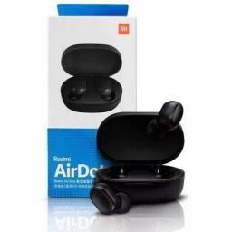 Fone de ouvido sem fio bluetooth AirDots preto