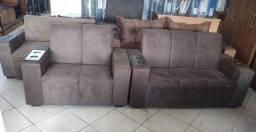 Vendo sofá 2 e 3 lugares NOVO por: R$: 799,00