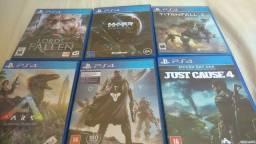 Troco Jogos de PS4.