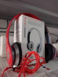 Fone de ouvido stereo headset_varejo e atacado entrega a domicílio Jp e região