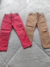 Título do anúncio: Vendo duas calças nova