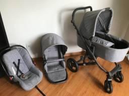 Carrinho para bebe 6 meses de uso