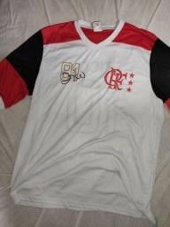 Título do anúncio: Camisa Braziline Flamengo n? 10 Zico GG