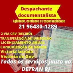 Despachante documentalista- serviços rápidos Detran RJ