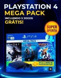 Título do anúncio: Mega promoção PLAYSTATION 4 NOVO